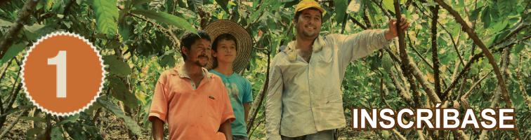Inscripción al concurso cacao de oro